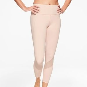 NWOT Athleta Pink Eclipse 7/8 Leggings